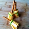 Harry Potter Pretzel Cheese Brooms