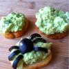 Avocado Egg Salad Open Faced Sandwiches