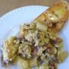 Potato and Egg Scramble