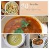20 Rainy Day Soup Recipes - I just had to share
