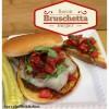 Bacon Bruschetta Burgers with Mozzarella