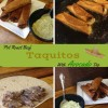 Leftover Pot Roast Beef Taquitos With Avocado Dip
