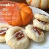 Pumpkin Pie Cookies with Cream Cheese Glaze {Frugal Friday}