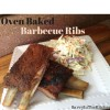 Oven Baked Barbecue Ribs