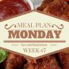 Meal Plan Monday #7 {Week of 1/18 - 1/24}