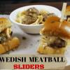 Swedish Meatball Sliders