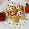 White Chocolate Dipped Strawberry Madeleines - Plus Giveaway!