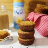 Banana Honey Oat Muffins
