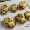 Garlic Butter Shrimp and Avocado Crostini - #CookoutWeek