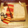Harry Potter Inspired Book Cake Tutorial