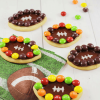 Football Sugar Cookies with Bingo Printable