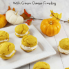 Pumpkin Whoopie Pies with Cream Cheese Frosting!
