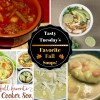 Tasty Tuesday's - Favorite Fall Soups!