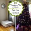 DIY Christmas Tree Hack - Make Your Tree Taller!