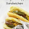 Game Day Slow Cooker Sausage & Pepper Sandwiches!