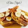 Peanut Butter, Banana and Bacon Stuffed French Toast Elvis Style