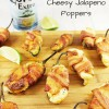 Bacon Wrapped Cheesy Jalapeno Poppers