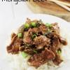 Super Easy Mongolian Beef