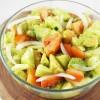 Cucumber, Onion, Avocado, and Tomato Salad!