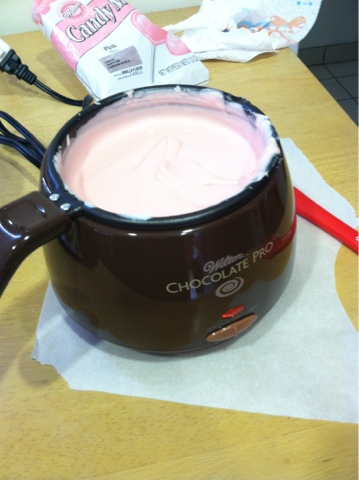 Working With The Wilton Chocolate Pro Electric Melting Pot Savvy