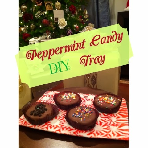 DIY Peppermint Candy Tray