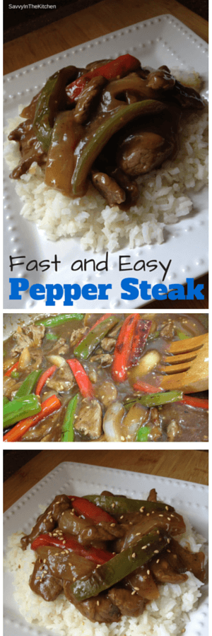 Fast and easy pepper steak savvy in the kitchen for 100 degree chinese cuisine
