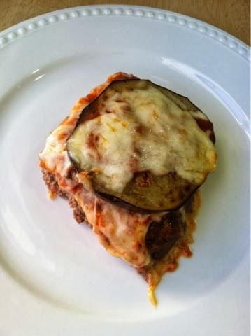 eggplant meatloaf parmesan