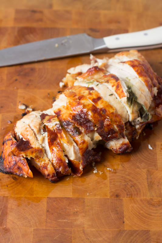 Sage Roasted Turkey T Is Way Easier Than