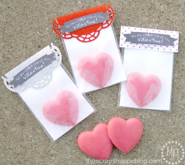 glitter chalk valentines 11