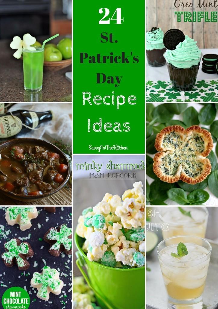 24 St.Patrick's Day Recipe Ideas