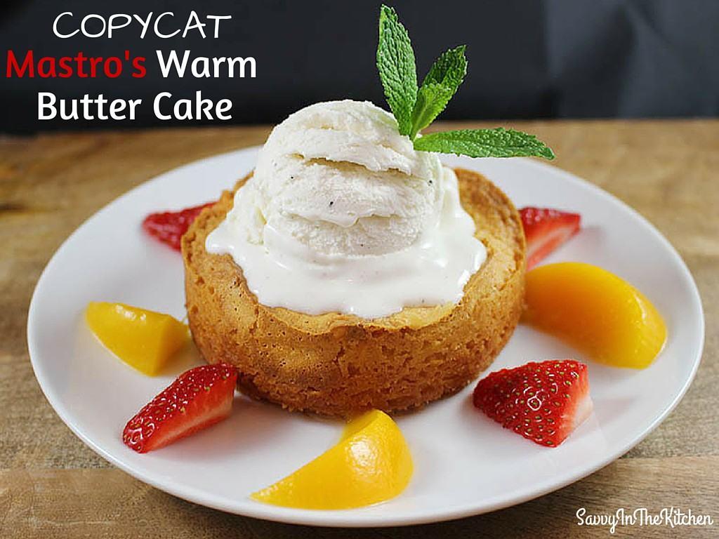 Grand Lux Cafe Warm Butter Cake Recipe