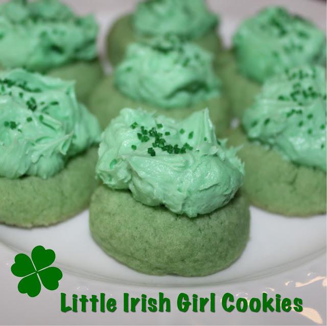 Little Irish girl cookies (4)