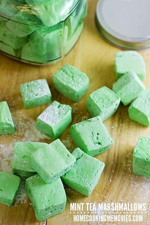 Mint-Tea-Marshmallows