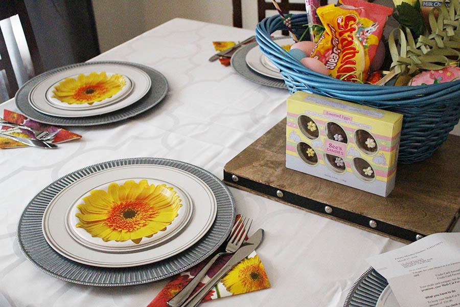 christmas ham dinner table - photo #47