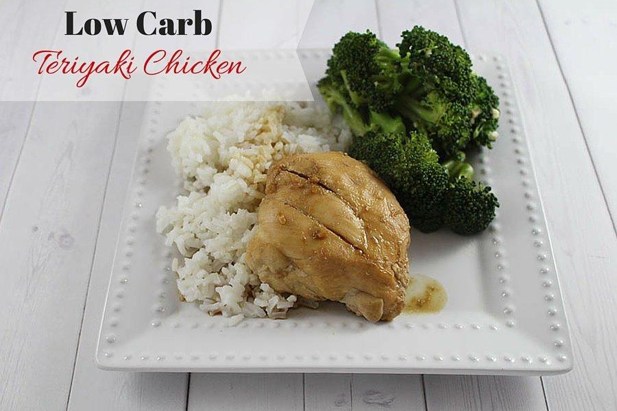Low Carb Teriyaki Chicken