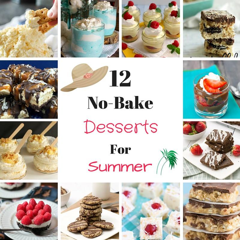 12 no-bake desserts