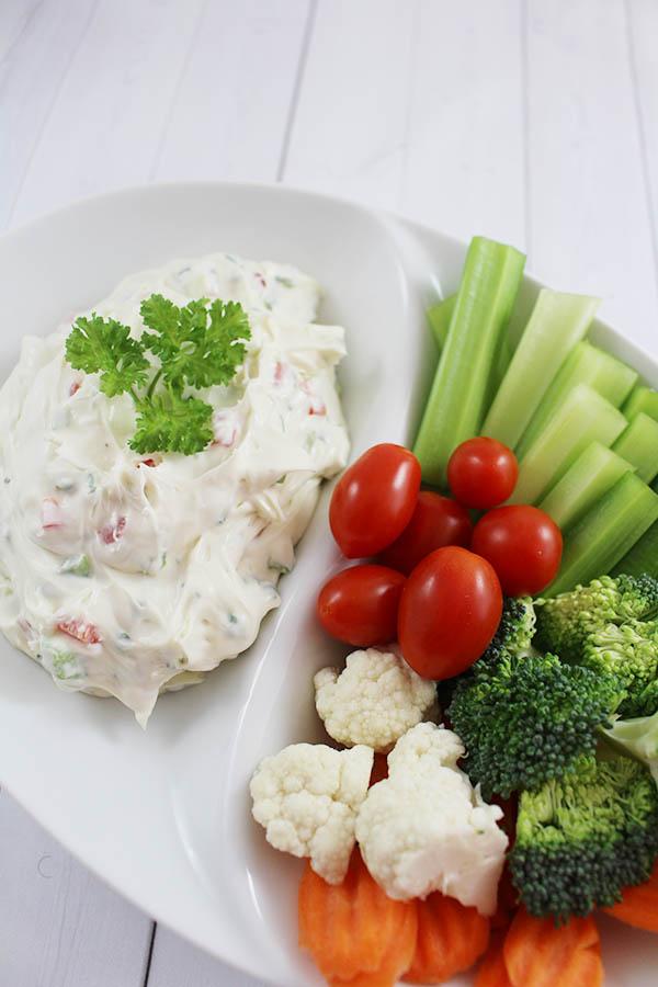 Cream Cheese Veggie Dip