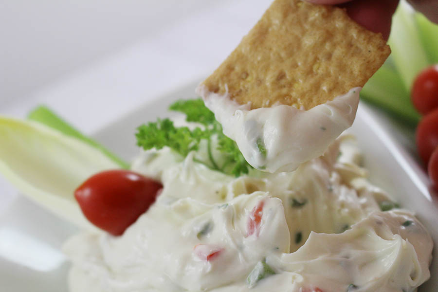 Cream Cheese Veggie Dip2