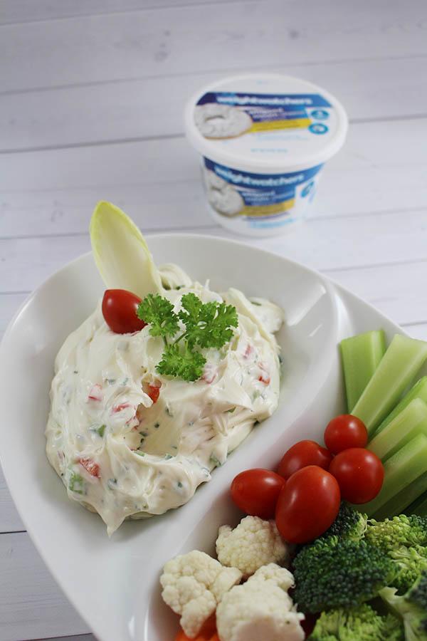 Cream Cheese Veggie Dip8