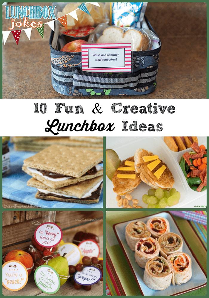 10FunandCreative LunchboxIdeasCollage