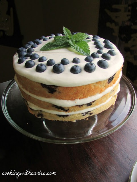 Di Blueberry Cake