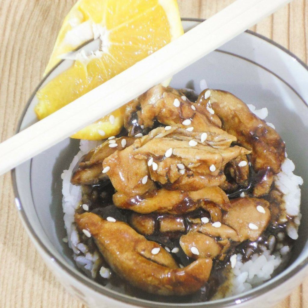 Orange Glazed Chicken Recipe — Dishmaps