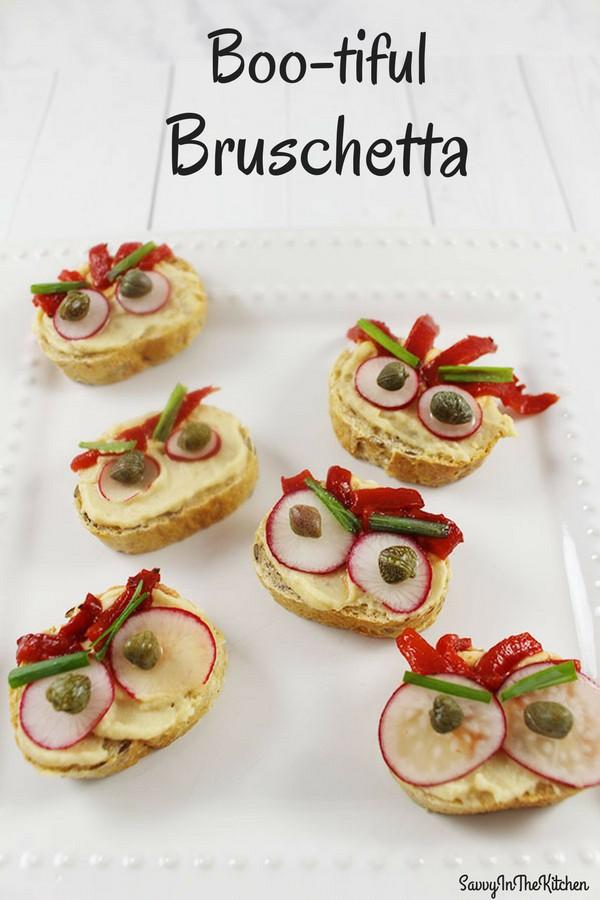 boo-tiful Bruschetta