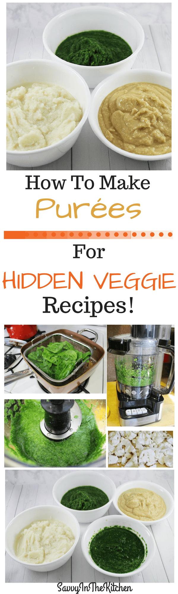 How to make pures for hidden veggie recipes savvy in the kitchen how to make purees for hidden veggie recipes forumfinder Choice Image