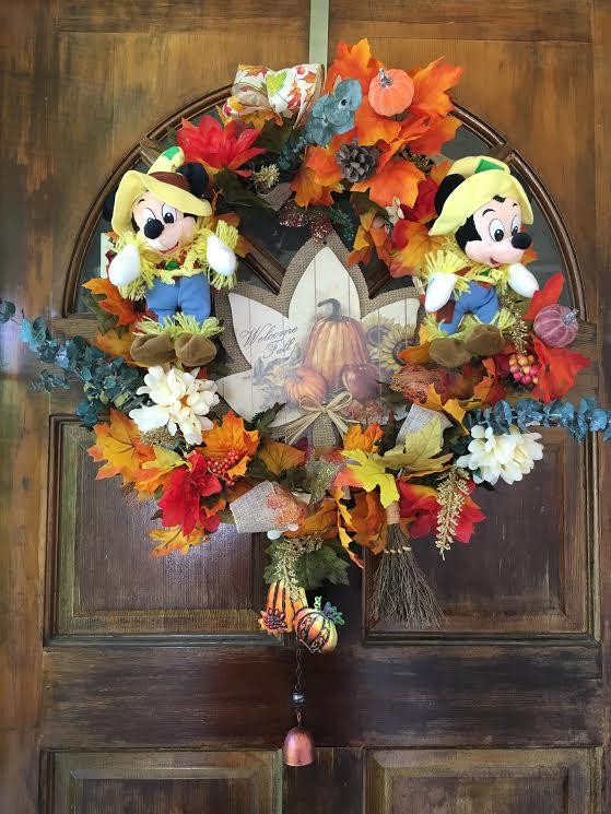 Disney Fall Wreath DIY! - So easy!
