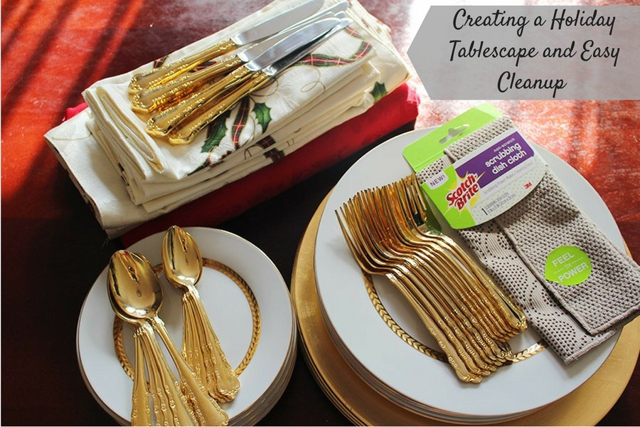 creating-a-holiday-tablescape-and-easy-cleanup-with-scotch-brite
