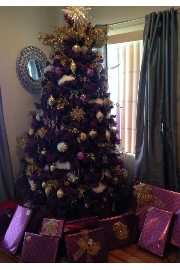 DIY Christmas Tree Hack - Make Your Tree Taller! - Savvy In The Kitchen