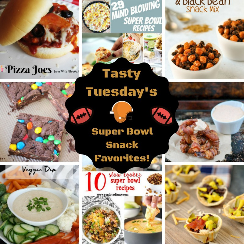 Tasty Tuesday's - Superbowl Snack Favorites!