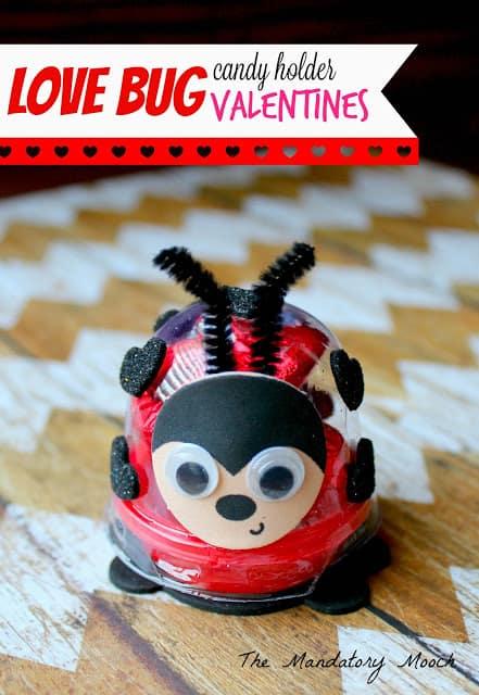 Love Bug Candy Holder Valentines