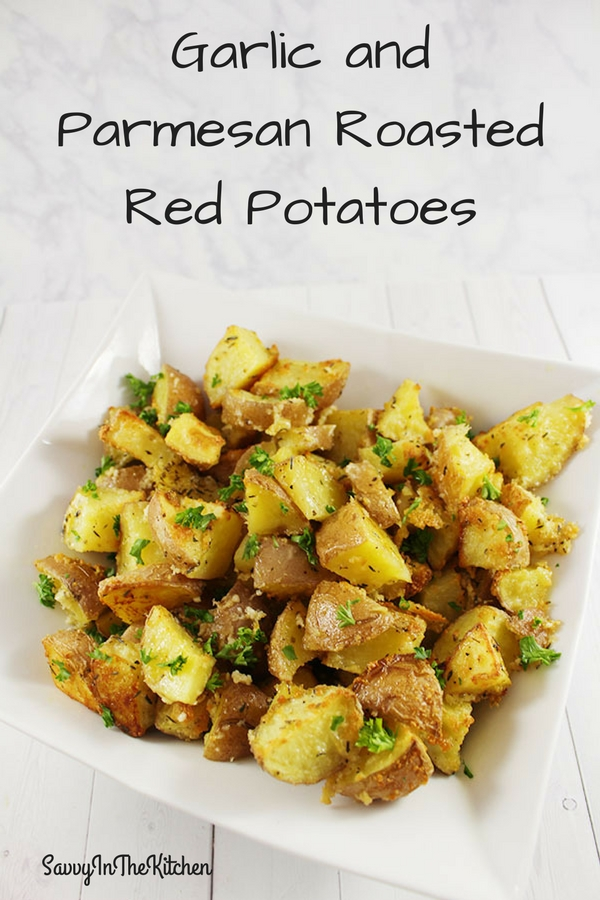 Garlic and Parmesan Roasted Red Potatoes